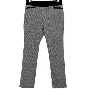 NWT Ny & Co. Black/White Print Dress Pants